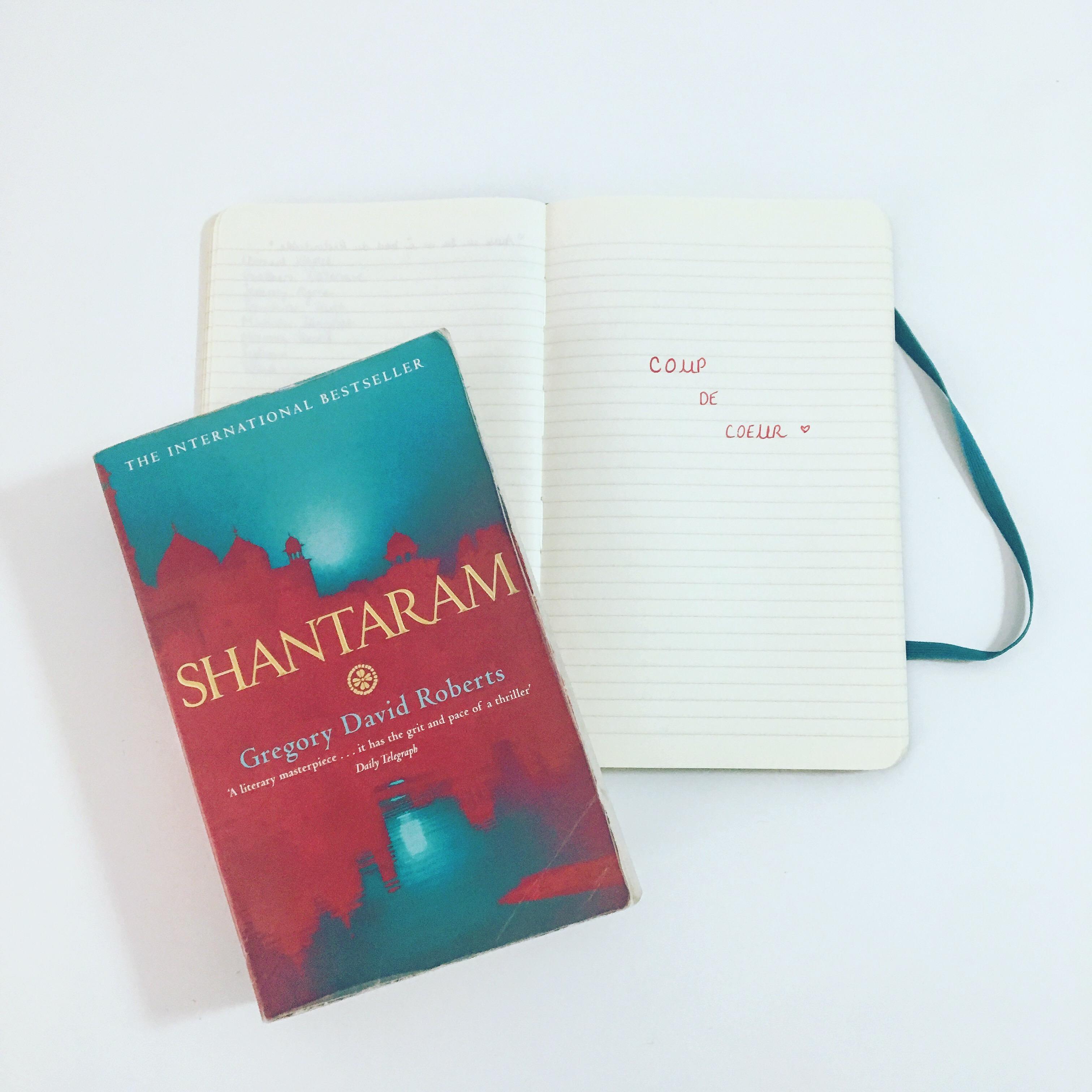 shantaram - gregory david roberts - the unamed bookshelf