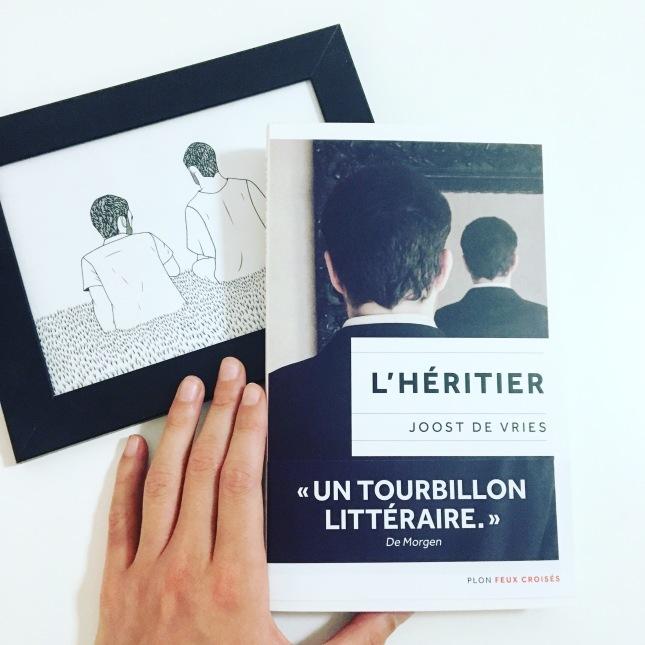 l'héritier - joost de vries - editions plon - rentrée littéraire 2017 - the unamed bookshelf