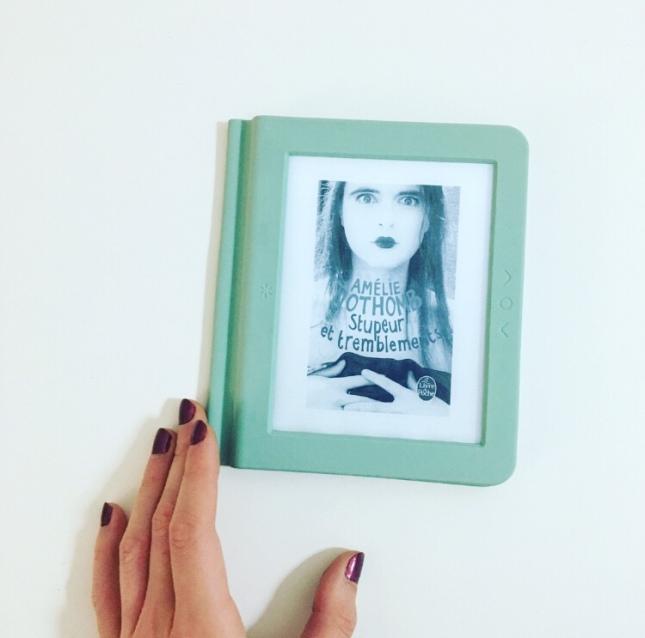 stupeur et tremblements - Amélie Nothomb - Grand prix du roman de l'académie française - the unamed bookshelf - liseuse nolim