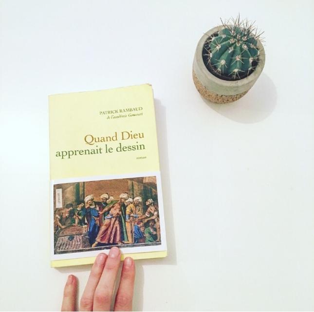 Quand Dieu apprenait le dessin - Editions Grasset et Fasquelle - Janvier 2018 - the unamed bookshelf
