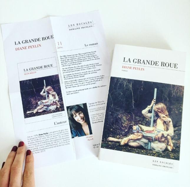 La Grande Roue, Diane Peylin, Les Escales, Janvier 2018, the unamed bookshelf