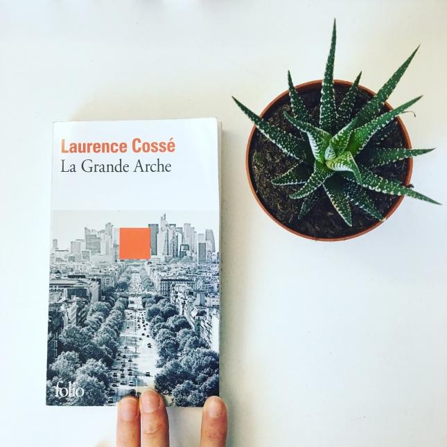 La Grande Arche, Laurence Cossé, Folio, the unamed bookshelf, Prix François-Mauriac d'Aquitaine