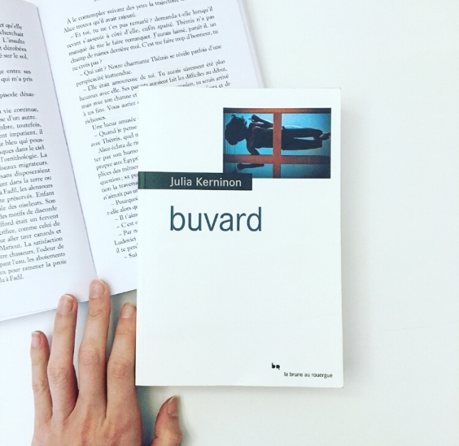 Buvard, Julia Kerninon, Editions Le Rouergue, the unamed bookshelf