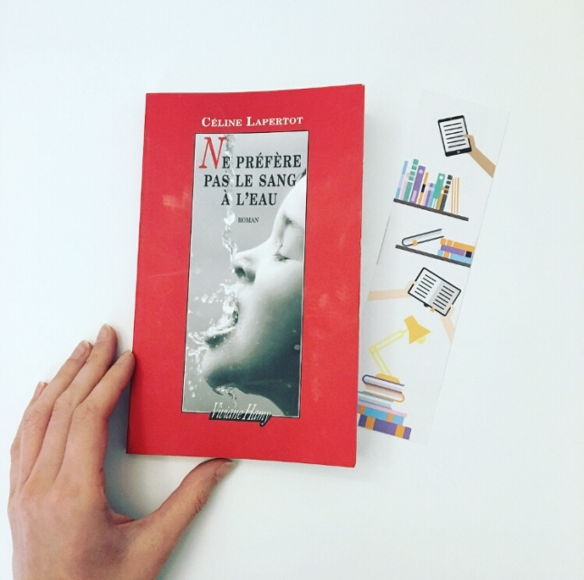 Ne préfère pas le sang à l'eau, Céline Lapertot, Editions Viviane Hamy, lecteurs.com, Olivia Cheucle
