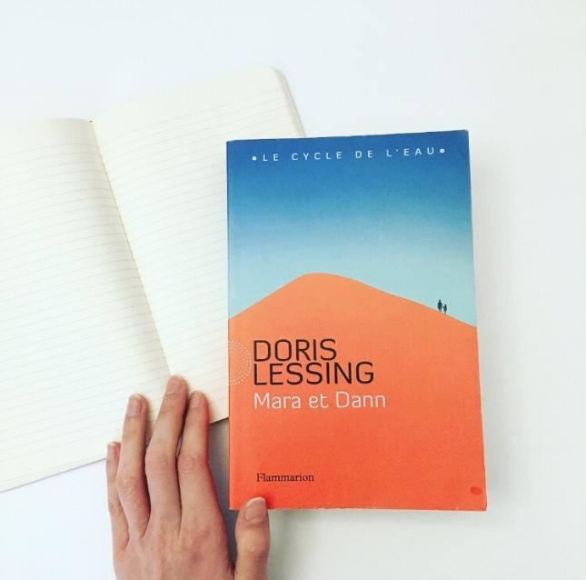 Mara et Dann, Doris Lessing, Prix Nobel de Littérature 2007, Flammarion