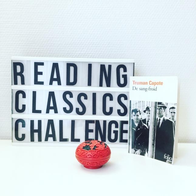 De sang froid, Truman Capote, Folio, ReadingClassics Challenge 2018