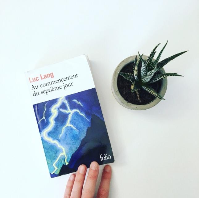 Au commencement du septième jour Luc Lang Folio