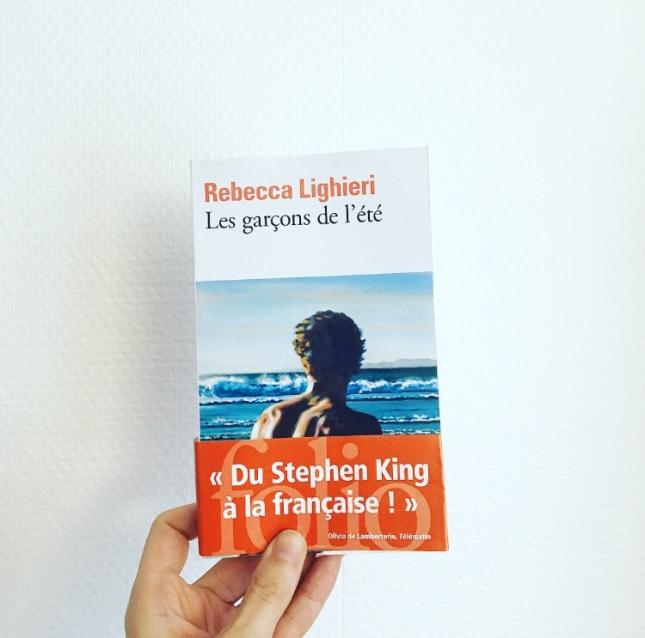 Les garçons de l'été Rebecca Lighieri Emmanuelle Bayamack-Tam Folio livres Prix des libraires Folio