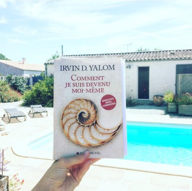 Comment je suis devenu moi-même Irvin D. Yalom Albin Michel Rentrée littéraire 2018 The Unamed Bookshelf