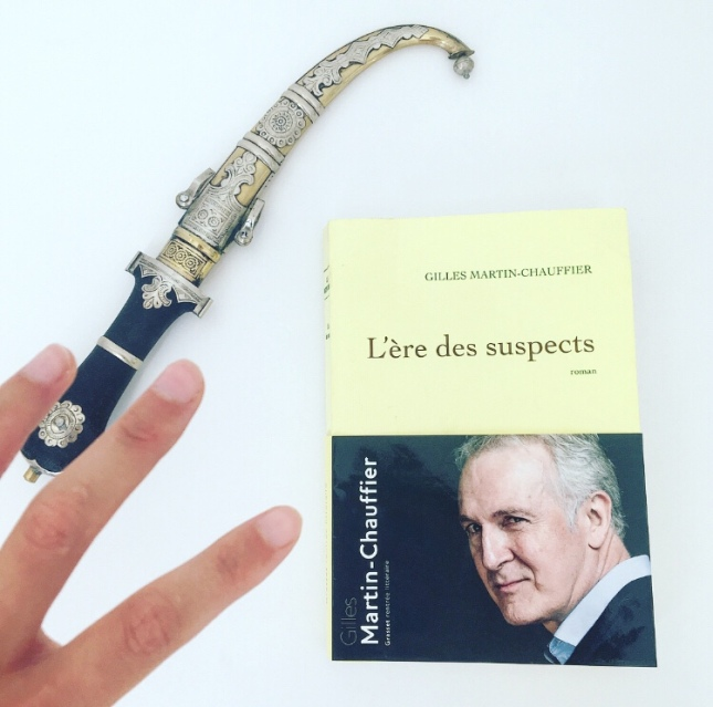 L'ère des suspects Gilles Martin-Chauffier Editions Grasset Rentrée littéraire 2018 The Unamed Bookshelf