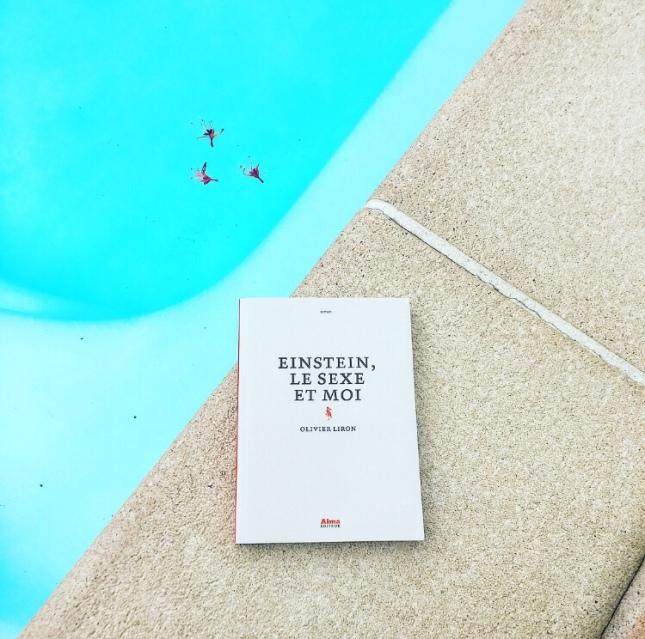 Einstein, le sexe et moi Olivier Liron Alma Editeur The Unamed Bookshelf Rentrée littéraire 2018