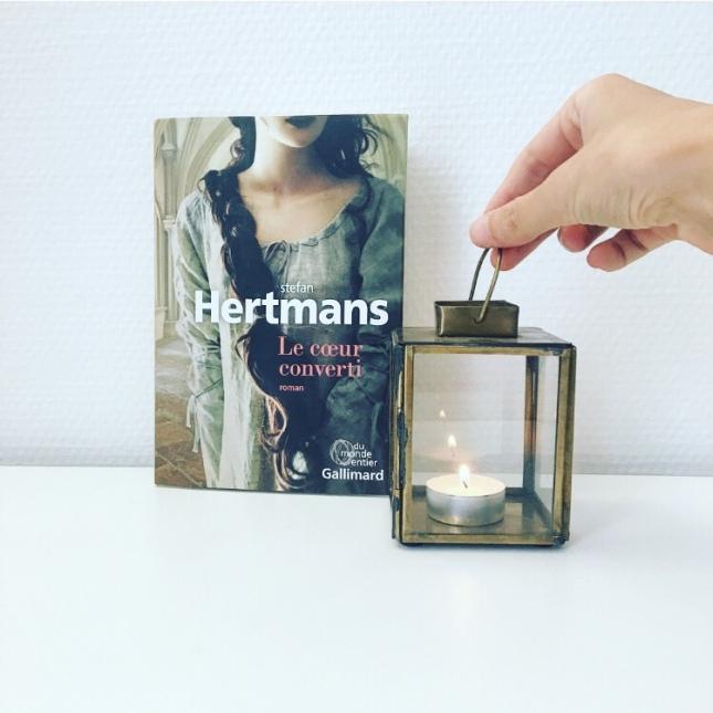 Le coeur converti - Stefan Hertmans - Editions Gallimard - Du monde entier - Rentrée littéraire 2018 - The Unamed Bookshelf