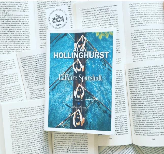 L'affaire Sparsholt Alan Hollinghurst Editions Albin Michel Rentrée Littéraire 2018 The Unamed Bookshelf