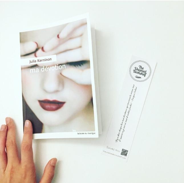 Ma dévotion - Julia Kerninon - La Brune du Rouergue - Rentrée littéraire 2018 - The Unamed Bookshelf
