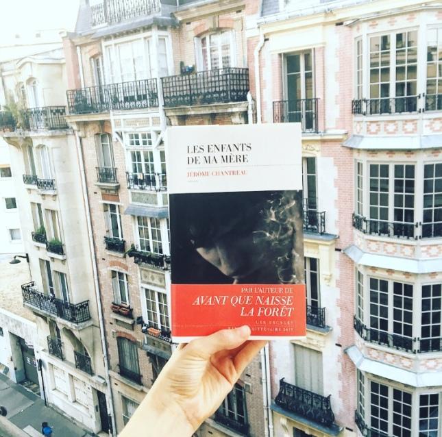 Les enfants de ma mère Jérôme Chantreau Editions Les Escales Rentrée littéraire 2018 68 Premières fois The Unamed Bookshelf