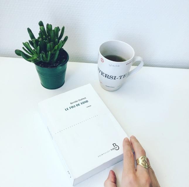 Le Fou de Hind Bertille Dutheil Editions Belfond Pointillés Rentrée Littéraire 2018 68 Premières fois The Unamed Bookshelf