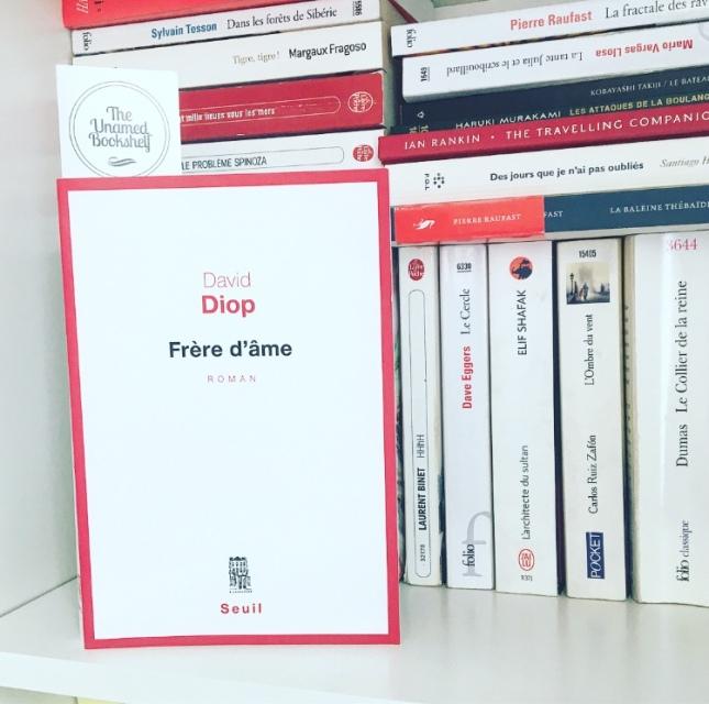 Frère d'âme David Diop Editions du Seuil Rentrée littéraire 2018
