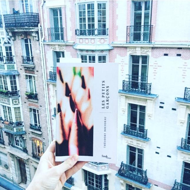 Les petits garçons - Théodore Bourdeau - Rentrée Janvier 2019 - Stock Arpège - Caroline Laurent - The Unamed Bookshelf