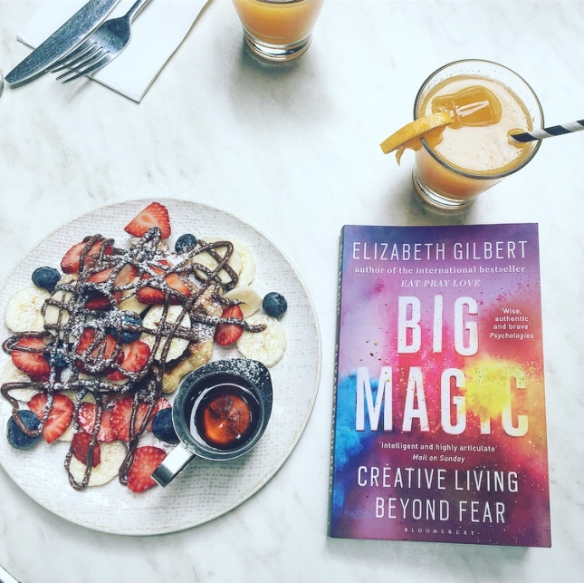 Big Magic Creative Life beyond fear Elizabeth GILBERT Comme par magie Calmann Lévy The Unamed Bookshelf