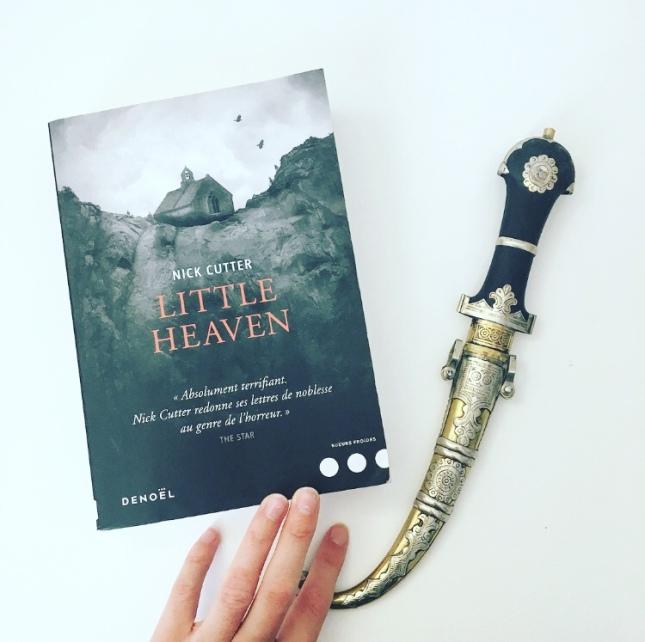 Little Heaven Nick Cutter Craig Davidson Editions Denoël The Unamed Bookshelf Horreur