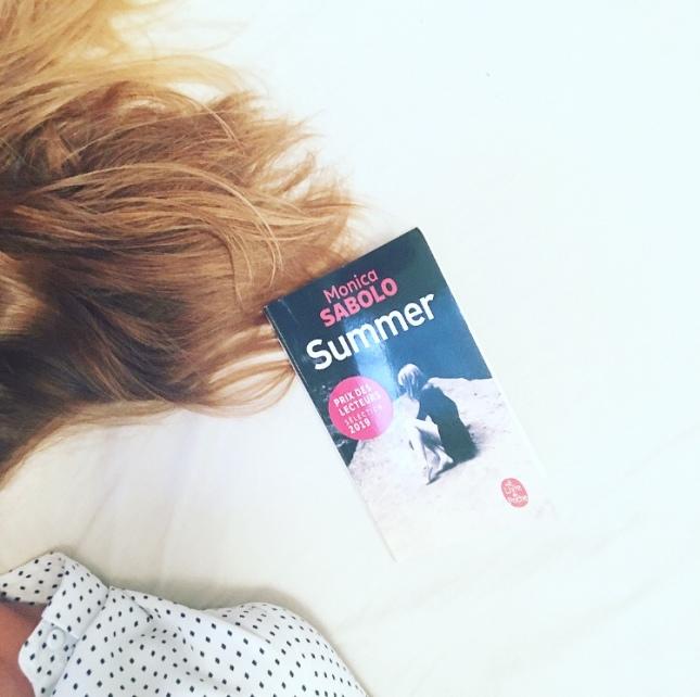 Summer Monica Sabolo Livre de Poche Prix des Lecteurs 2019 The Unamed Bookshelf