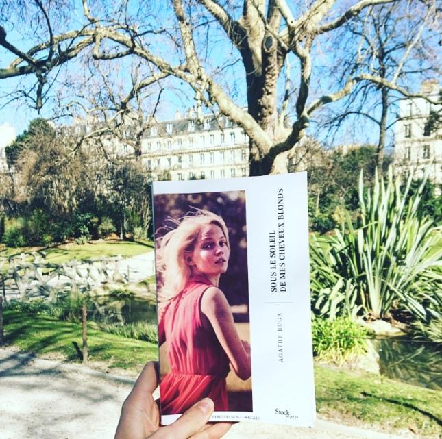 Sous le soleil de mes cheveux blonds, Agathe Ruga, Editions Stock, Collection Arpège, The Unamed Bookshelf Février 2019