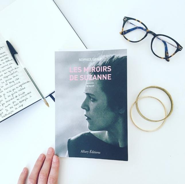 Les miroirs de Suzanne Sophie Lemp Allary Editions The Unamed Bookshelf
