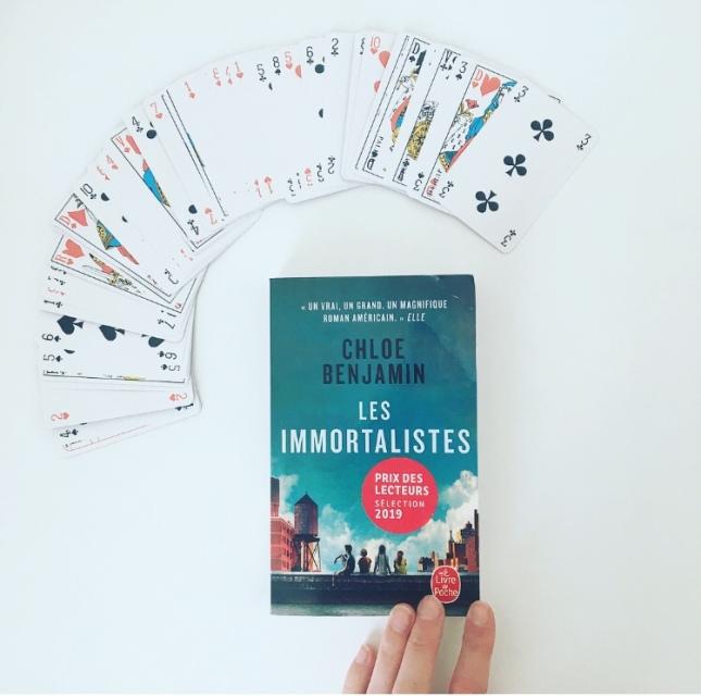Les Immortalistes Chloe Benjamin Livre de poche Prix des lecteurs 2019 The Unamedbookshelf