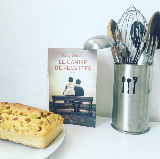 Le cahier de recettes Jacky Durand Editions Stock 2019 The Unamed Bookshelf