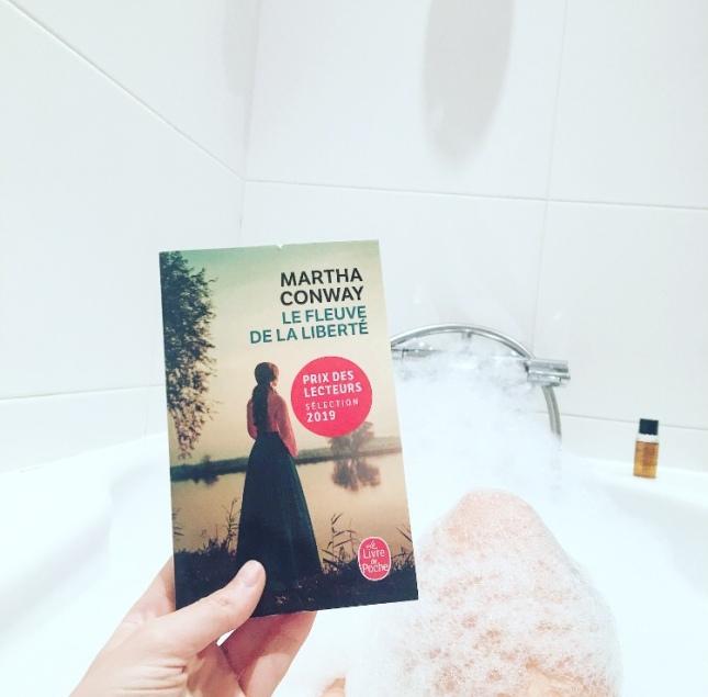 Le fleuve de la liberté Martha Conway Le Livre de Poche Prix des Lecteurs 2019 The Unamed Bookshelf