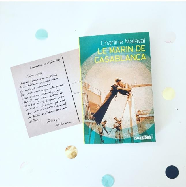 Le marin de Casablanca Charline Malaval Préludes éditions The Unamed Bookshelf 2019