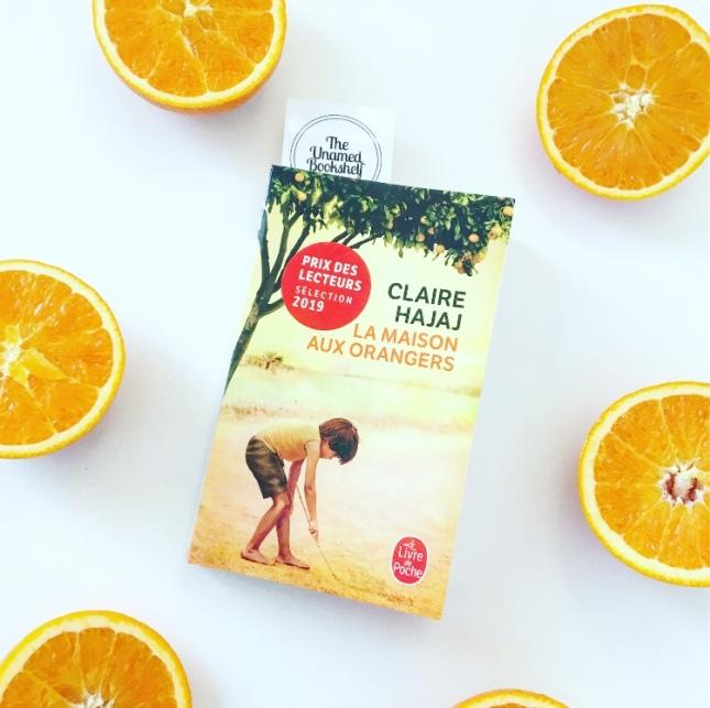 La maison aux orangers Claire Hajaj Le livre de poche Prix des lecteurs The Unamed Bookshelf