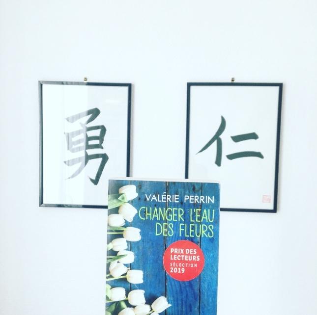 Changer l'eau des fleurs Valérie Perrin Livre de Poche Prix des lecteurs The Unamed Bookshelf