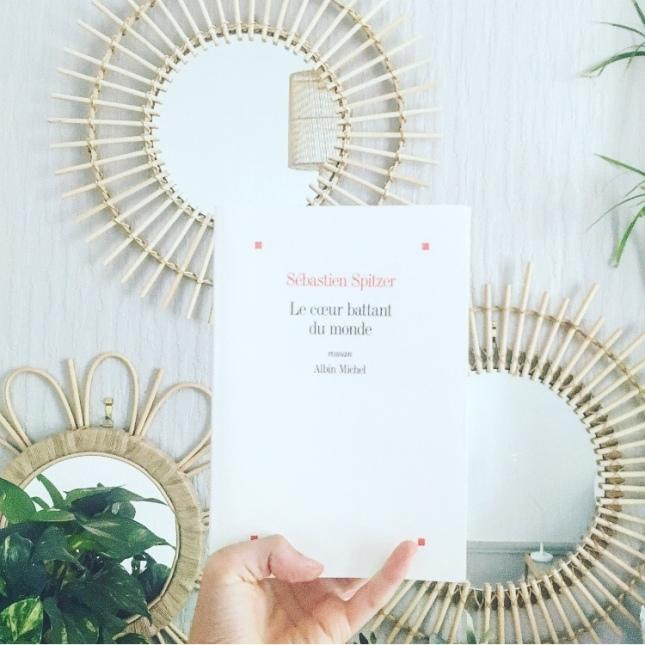 Le coeur battant du monde Sébastien Spitzer Editions Albin Michel Rentrée Littéraire 2019 The Unamed Bookshelf