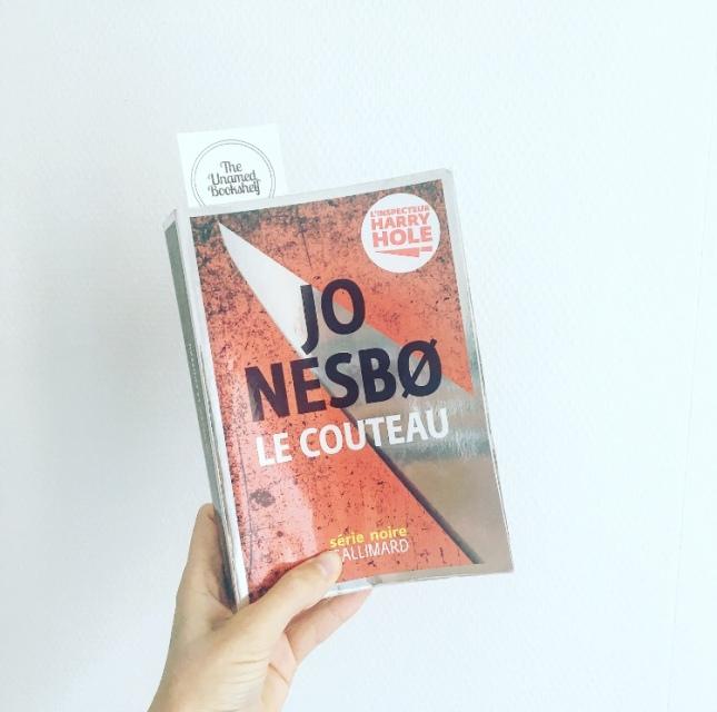 Le couteau Jo Nesbo Série Noire Gallimard Rentrée littéraire 2019 The Unamed Bookshelf Grand Prix des Lectrices Elle 2020