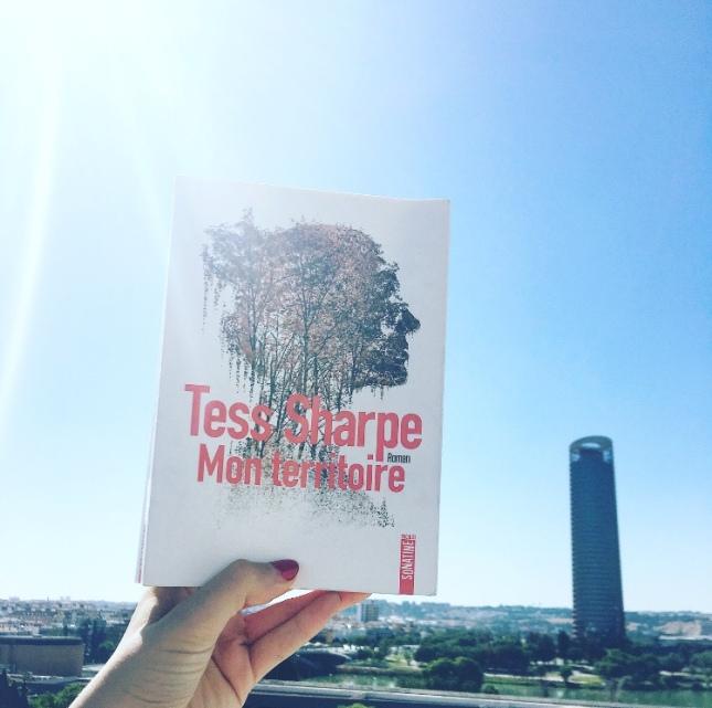 Mon territoire Tess Sharpe Editions Sonatine Grand Prix des Lectrices de Elle The Unamed Bookshelf