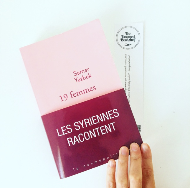 19 femmes, Samar Yasbek, Editions Stock, Grand Prix des Lectrices Elle 2020, The Unamed Bookshelf
