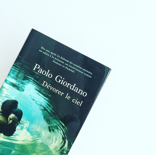 Dévorer le ciel, Paolo Giordano, Editions du Seuil, Grand Prix des Lectrices Elle 2020, The Unamed Bookshelf
