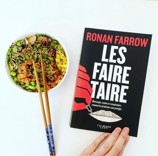 Les faire taire Ronan Farrow Editions Calmann Levy The Unamed Bookshelf