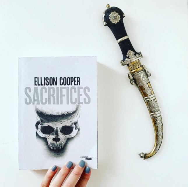Sacrifices Ellison Cooper Cherche midi éditeur The Unamed Bookshelf Grand prix des Lectrices Elle