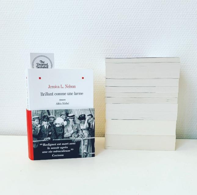 Brillant comme une larme Jessica L. Nelson Editions Albin Michel Rentrée littéraire Janvier 2020 The Unamed Bookshelf