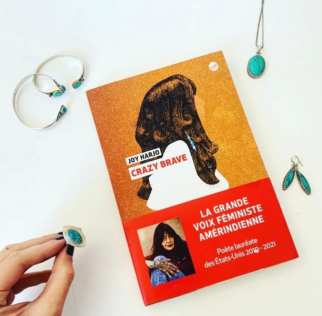 Crazy Brave Joy Harjo Editions Globe The Unamed Bookshelf Rentrée littéraire 2020