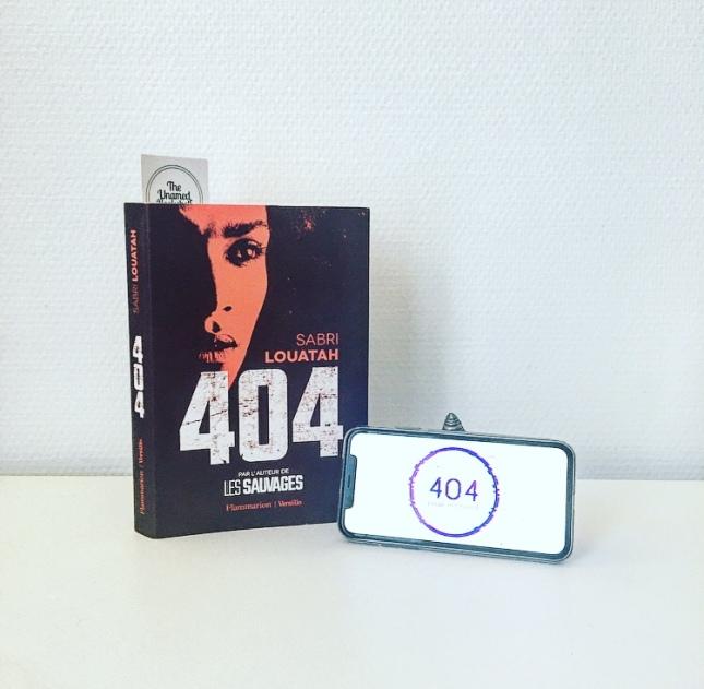 404 Sabri Louatah Editions Flammarion Rentrée littéraire 2020 The Unamed Bookshelf