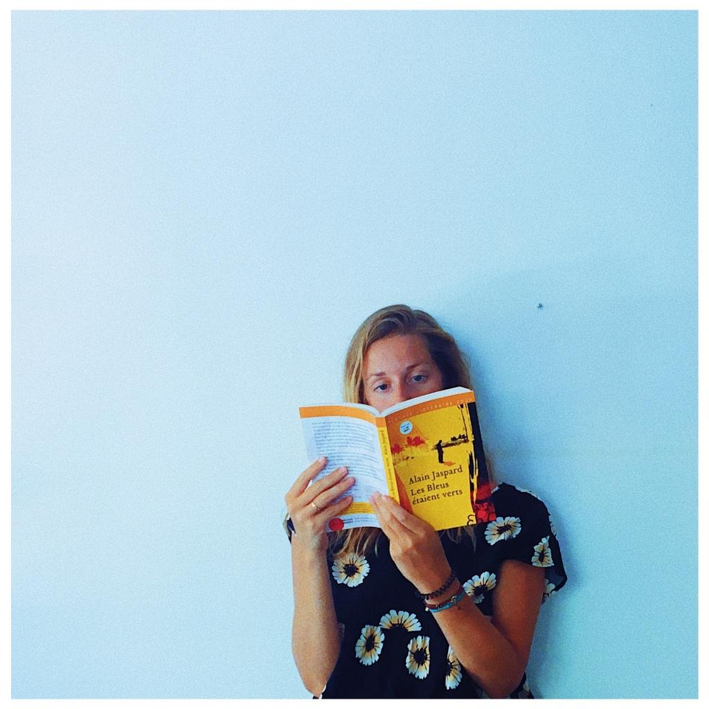 Les Bleus étaient verts Alain Jaspard Editions Héloïse d'Ormesson Rentrée littéraire 2020 The Unamed Bookshelf