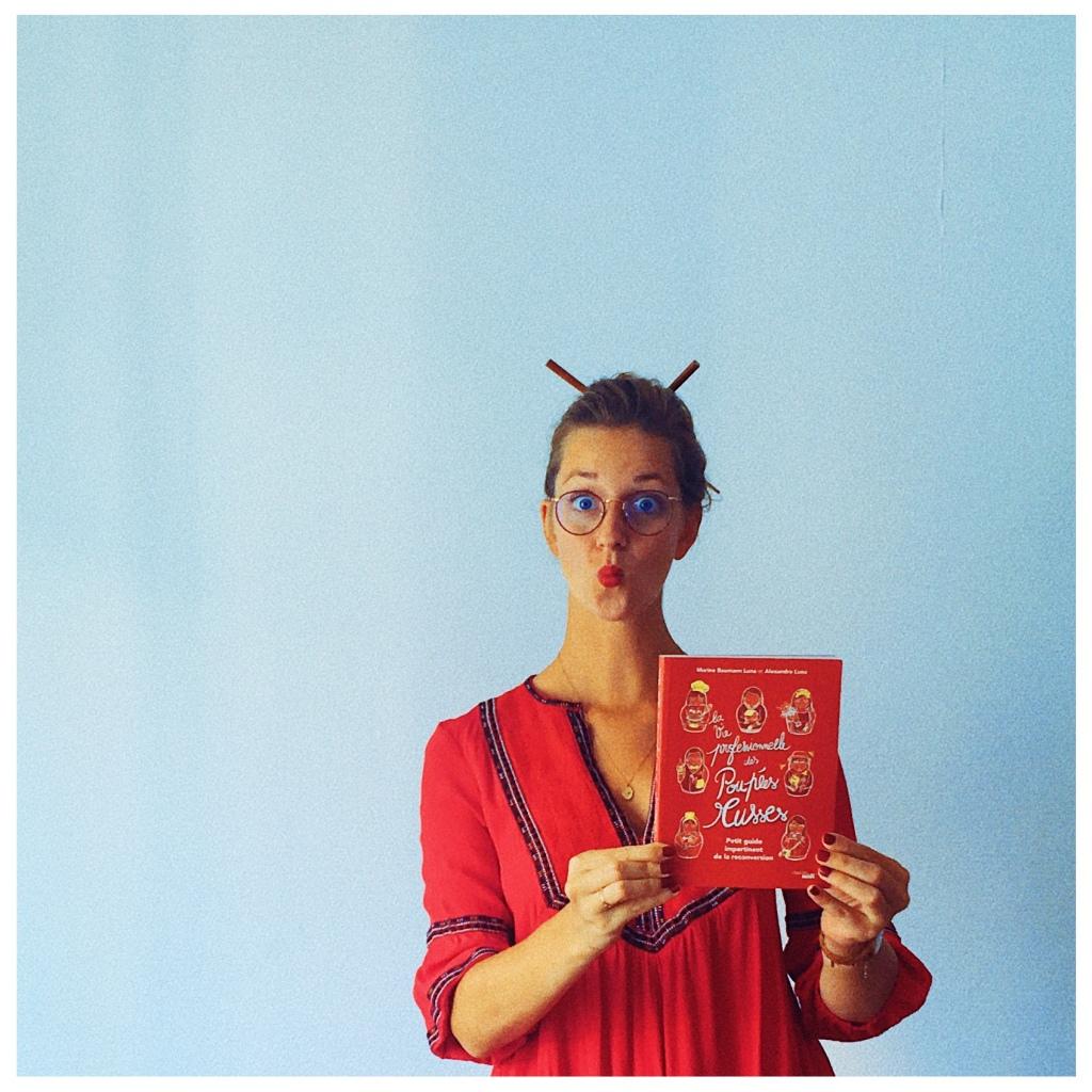 La vie professionnelle des poupées russes, Marine Baumann Luna et Alexandre Luna, Essai, Cherche midi éditeur, The Unamed Bookshelf, Rentrée littéraire 2020