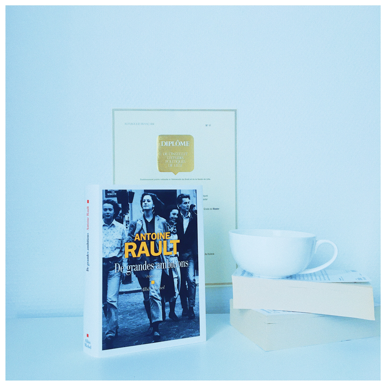 De grandes ambitions Antoine Rault Editions Albin Michel Rentrée littéraire 2020 The Unamed Bookshelf