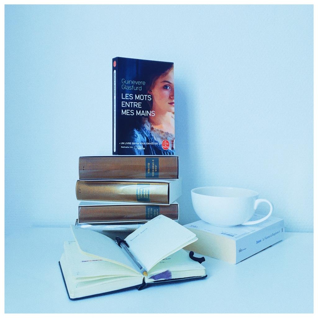 Les mots entre mes mains, Guinevere Glasfurd, Livre de poche, The Unamed Bookshelf