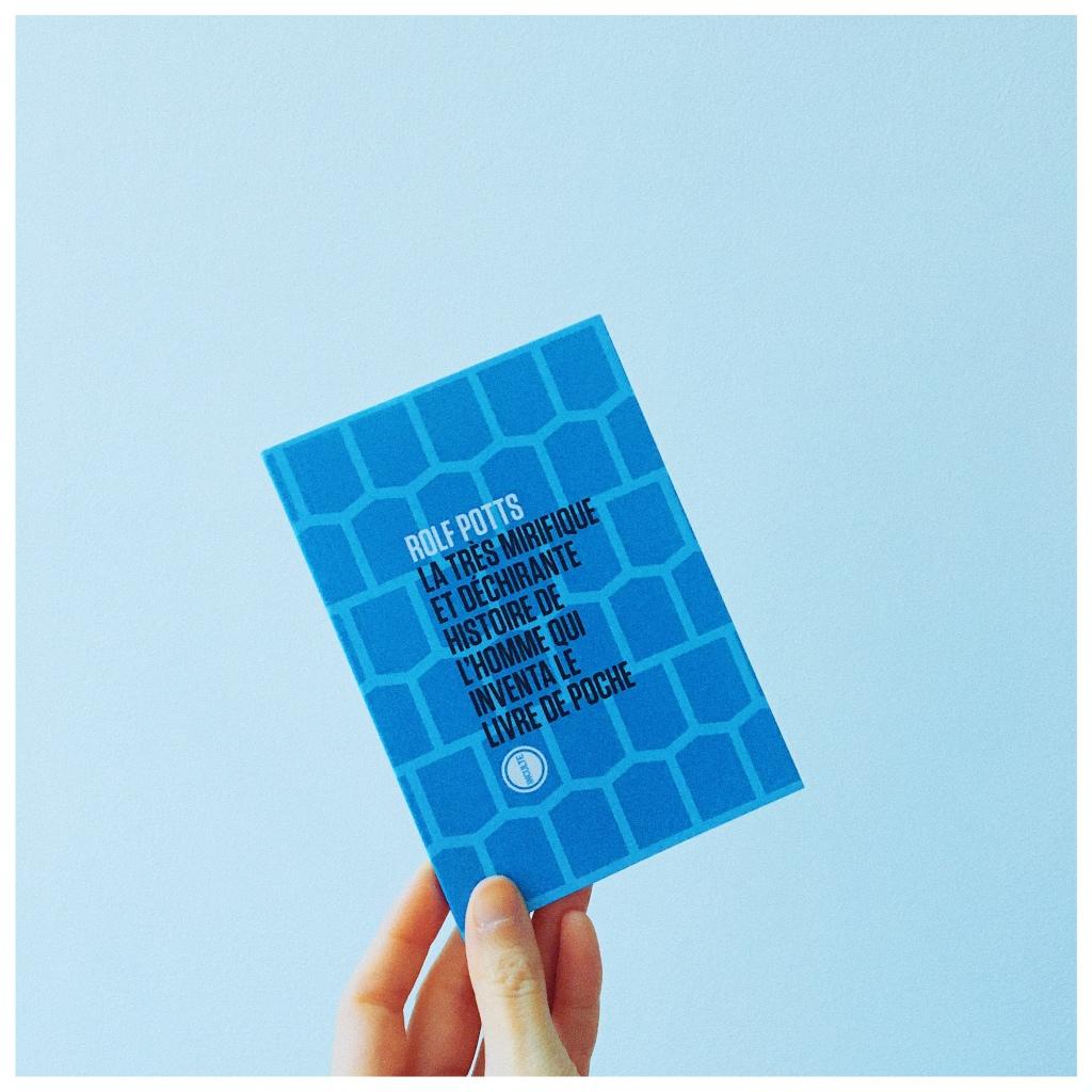 La très mirifique et déchirante histoire de l'homme qui inventa le livre de poche, Rolf Potts, Editions Inculte, La Petite, Petits livres bleus, Emanuel Haldeman-Julius, The Unamed Bookshelf