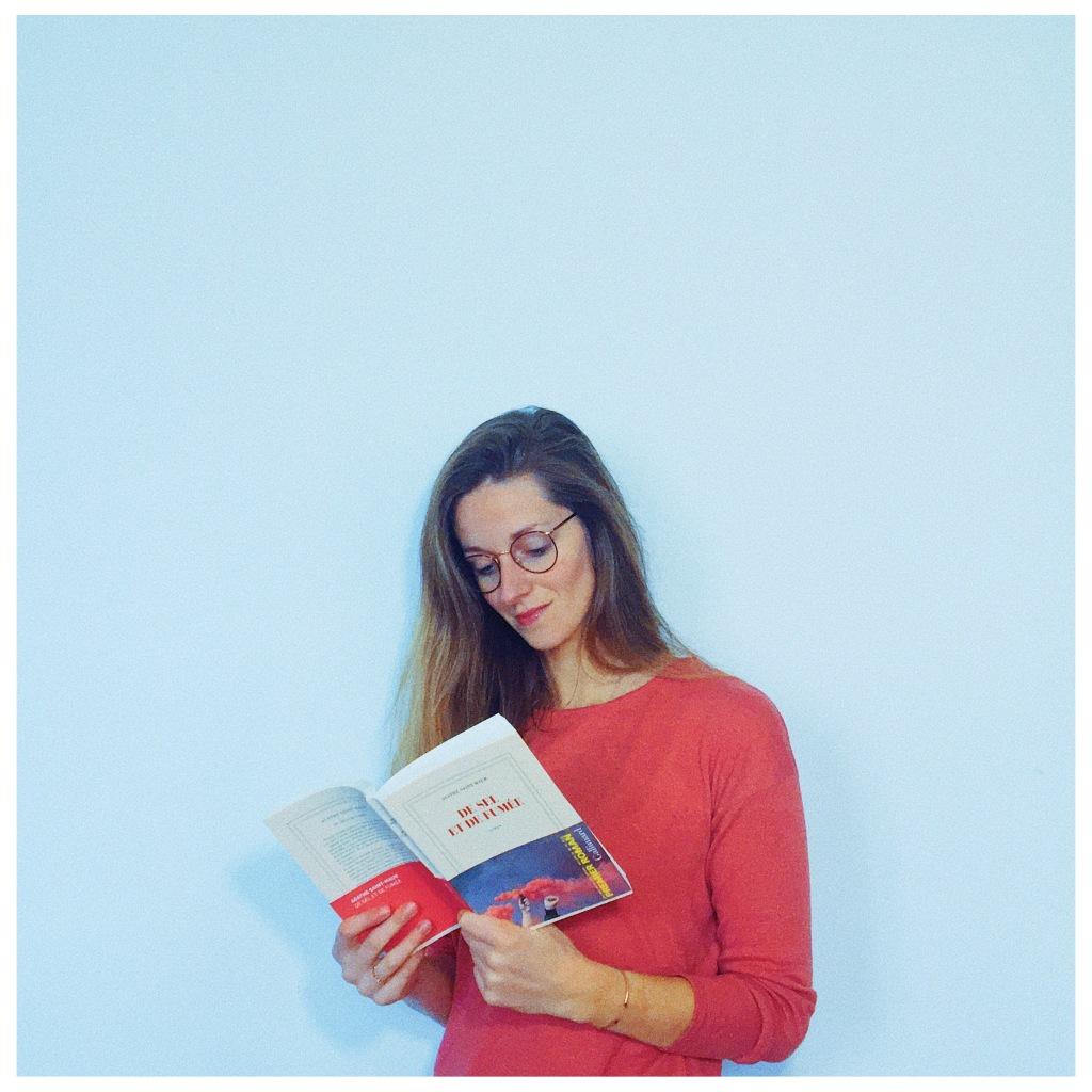 De sel et de fumée Agathe de Saint-Maur Editions Gallimard Premier roman 2021 The Unamed Bookshelf