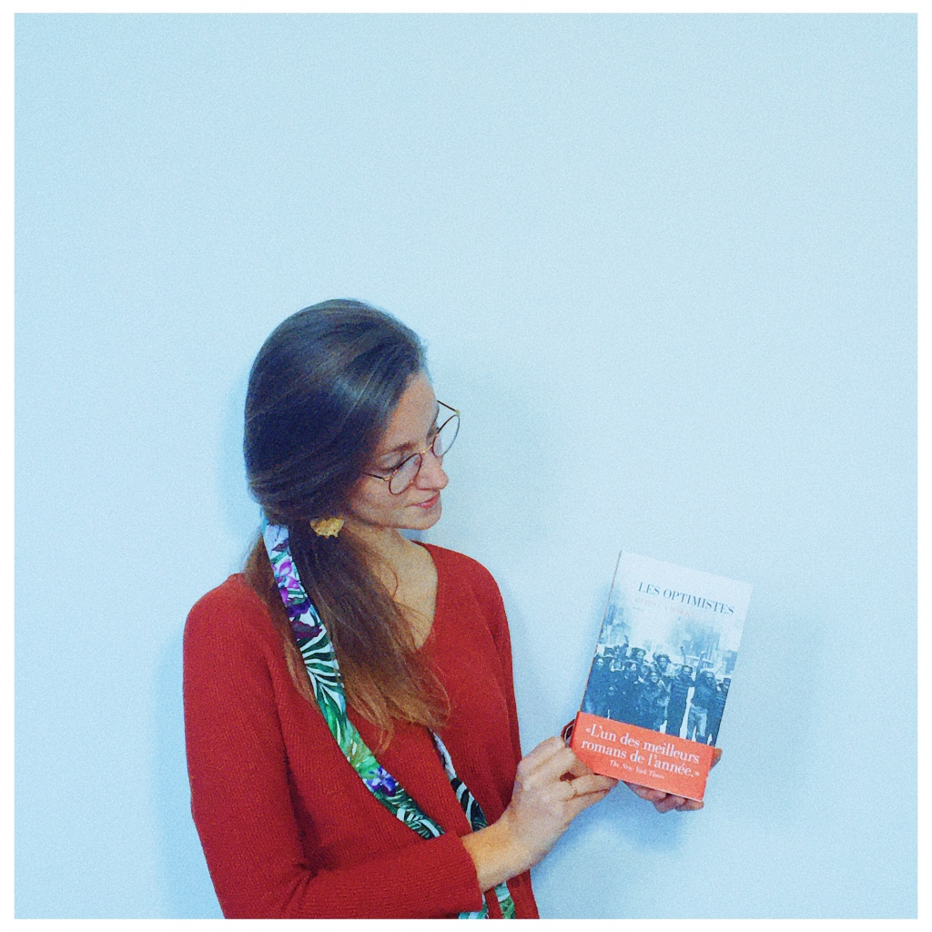 Les optimistes Rebecca Makkai Editions Les Escales 2020 The Unamed Bookshelf Chicago
